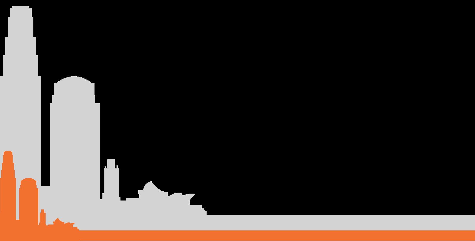 la-skyline-background